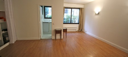 Exclusivité – Paris 16e – Grand studio de 35m²
