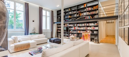 Paris 6e – Loft atypique de 220m²