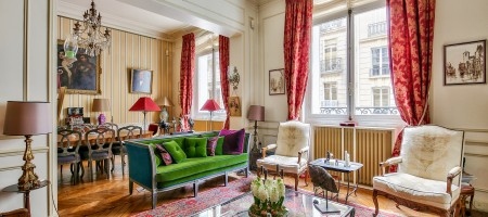 Paris 17e – Rue Margueritte – Appartement de 98,63m² Carrez