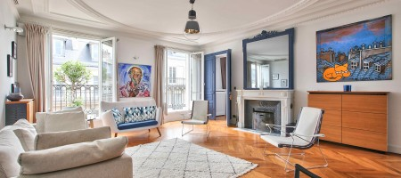 Exclusivité – Paris 16 – Rue de la Pompe / avenue Bugeaud – Appartement de 174,20m² Carrez