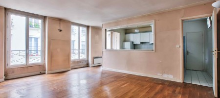 Exclusivité – Paris 02 – Rue Mandar – Appartement à rénover de 62,63m²
