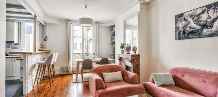 Levallois-Perret – Rue Anatole France – Louise Michel – Appartement de 60,49m² Carrez
